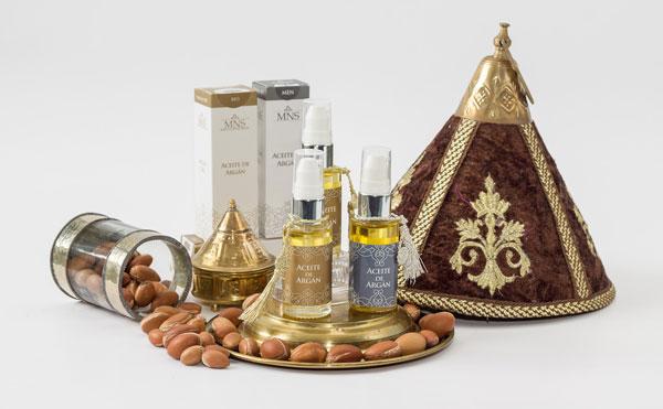 arganový olej použitie