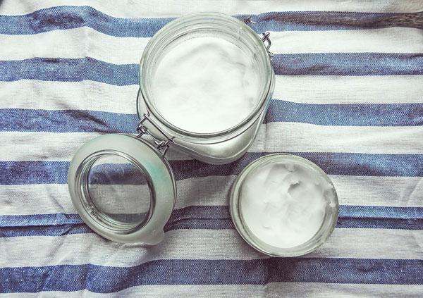 kokosový olej skladovanie