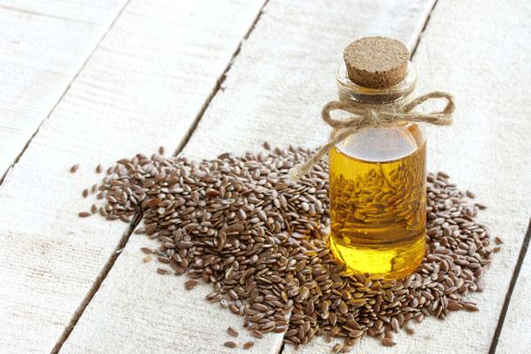 ľanový olej účinky