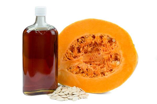 tekvicový olej užívanie