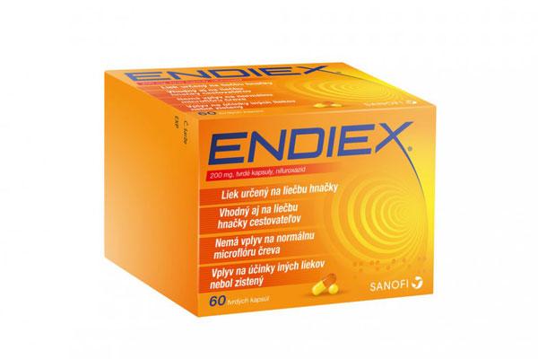 endiex účinky