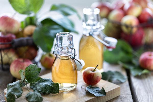 jablčný ocot použitie