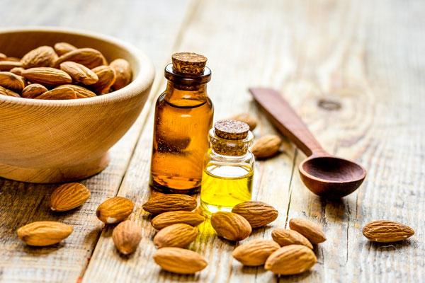 mandľový olej účinky