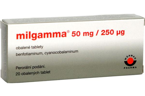 milgamma n účinky