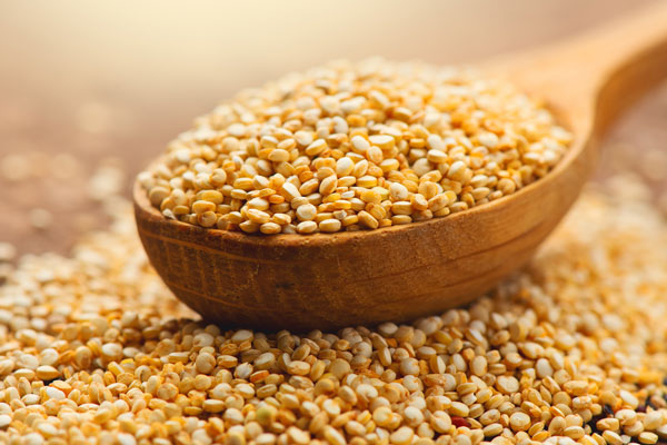 quinoa účinky