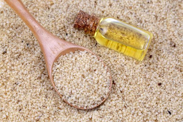 sezamový olej účinky
