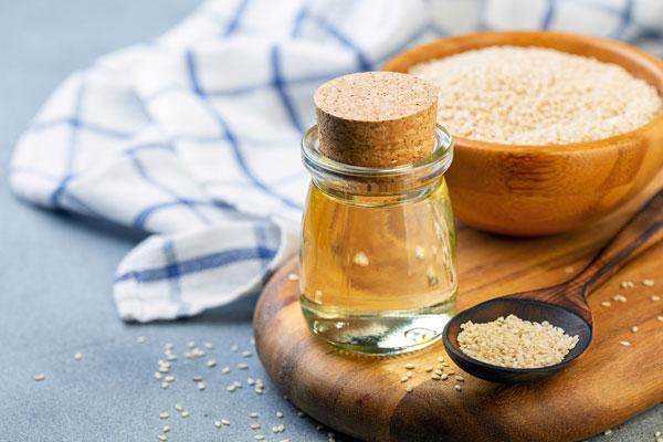 sezamový olej užívanie