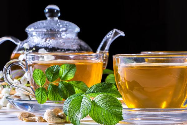 zelený čaj účinky