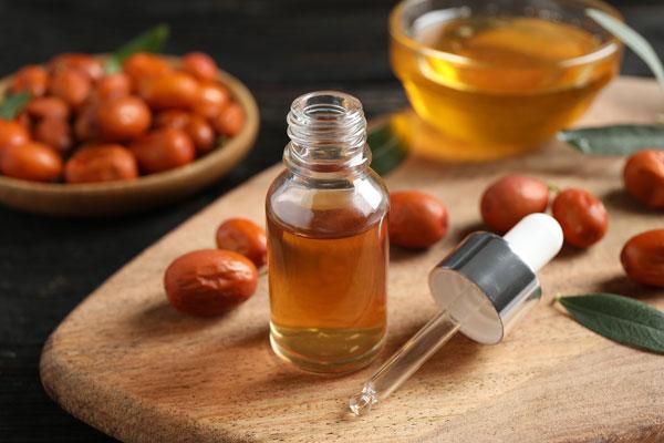 jojobový olej použitie