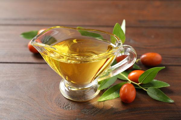 jojobový olej účinky