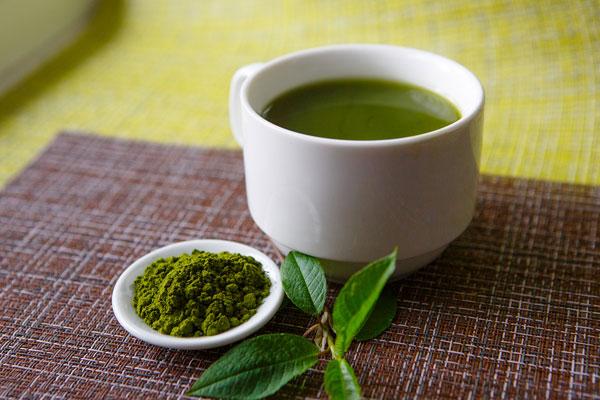 matcha čaj užívanie